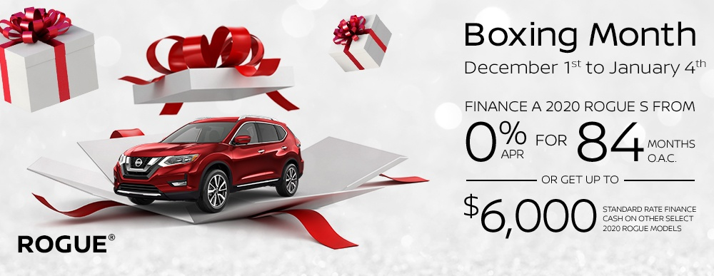 Parkway Nissan Boxing Month Event
